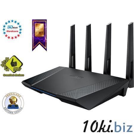 Беспроводной маршрутизатор ASUS RT-AC87U 802.11ac 2400Мбит / с 2,4 ГГц и 5ГГц 4xGbLAN USB3.0 поддержка IPTV 3G / 4G модемов Маршрутизаторы, роутеры в Москве