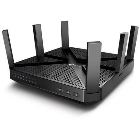 Беспроводной маршрутизатор TP-LINK Archer C4000, 802.11n / ac, 4000(1625 / 1625 / 750) Мбит / с, 2.4ГГц и 5ГГц, 4xGbLAN, 1xGbWAN, 1xUSB2.0, 1xUSB3.0