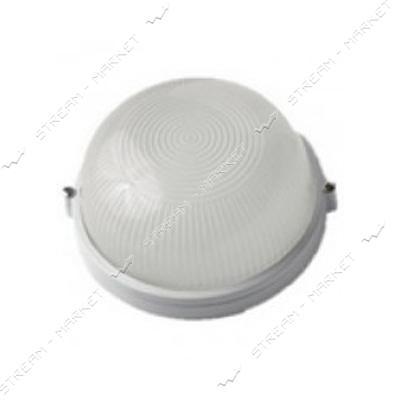 SY 102А IP54 В, 60Вт Е27 светильник пылевлагозащ. НПП 'Омега' круг/стекло, белый/8