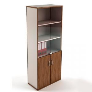 Фото Шкафы офисные Шкаф для документов со стеклянными дверками под заказ от производителя РБ. недорого