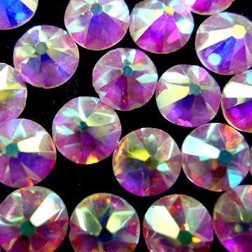 Фото Стразы Crystal Rhinestones холодной фиксации (на клей) Crystal AB ss 20