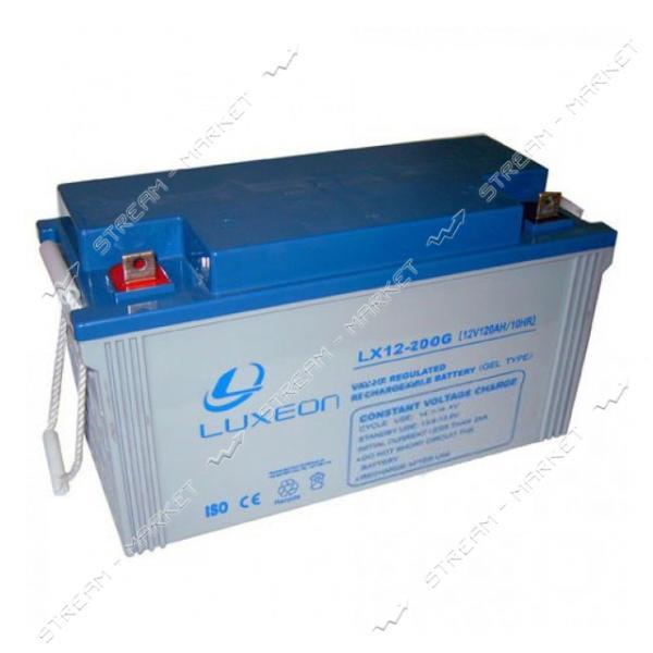 Аккумуляторная батарея LUXEON LX 12-200G 6V 200Аh