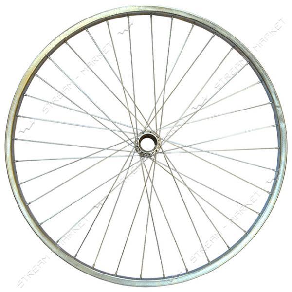 Колесо заднее d 28 на велосипед (стакан, спица, обод)