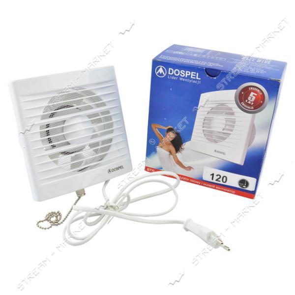 DOSPEL Вентиляторы вытяжной STYL 150 WP (С шнурковым выключателем)