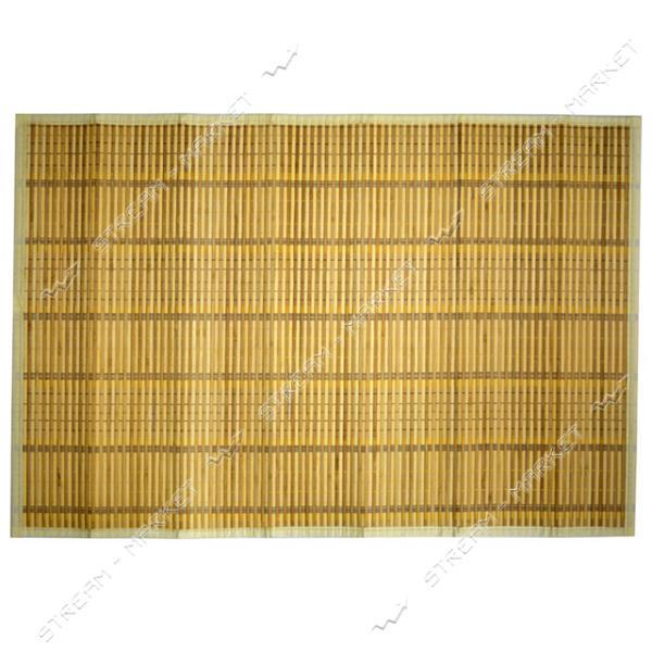 Подставка под горячее под чашку бамбук обшитый на ткани 60х90см