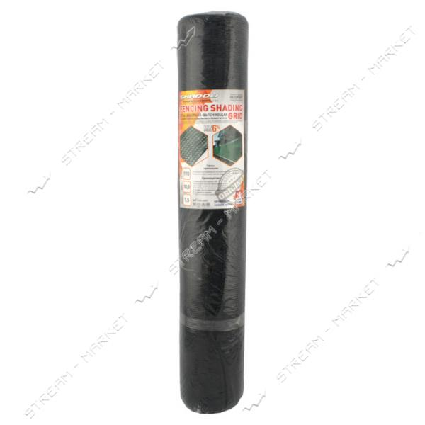 Сетка затеняющая-заборная 110г/м2 1х10м хаки Shadow Чехия