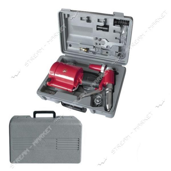 Пистолет заклепочный INTERTOOL PT-1304 пневмо. в чемодане с аксессуарами