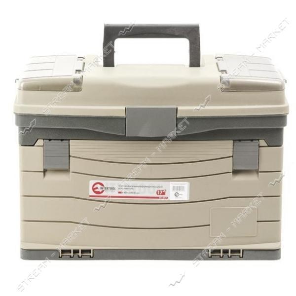 INTERTOOL BX-4017 Многофункциональный органайзер для метизов 17', 435*235*30мм