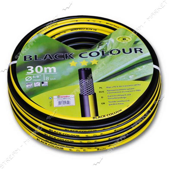 Шланг поливочный трехслойный BLACK COLOUR 3/4 50м
