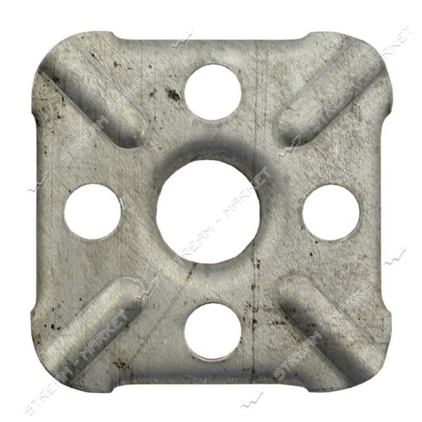 Накладка на газовую плиту утолщённая оцинкованная