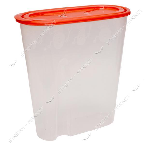 Емкость пластиковая для хранения круп 1, 8 л.