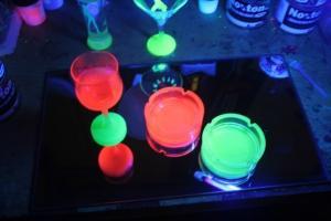 Фото Флуоресцентные пигменты Флуоресцентный пигмент красный100 гр