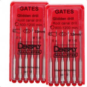 Каналорасширители машинные Gates Glidden RA (для углового наконечника) №1-6
