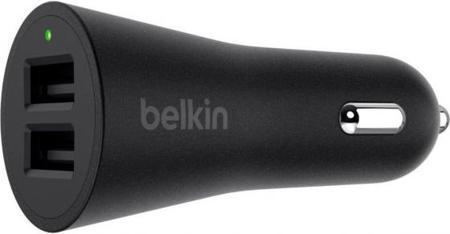 Автомобильное зарядное устройство Belkin F8M930btBLK 2.4А 2 х USB черный