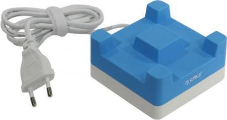Сетевое зарядное устройство Orico CHA-4U-EU 2.4А 4 x USB синий