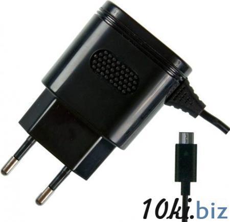 Сетевое зарядное устройство Partner 2.1A microUSB черный ПР032046 Зарядные устройства для портативной техники в России