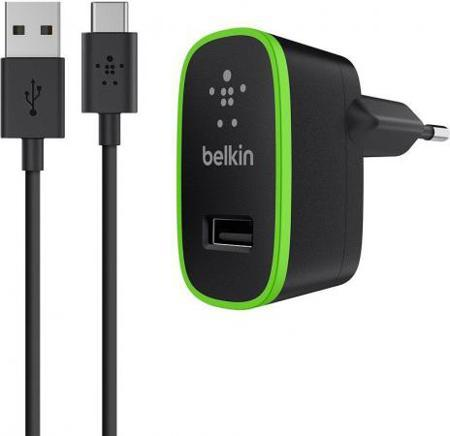 Сетевое зарядное устройство Belkin F7U001vf06-BLK 2.1A USB-C черный