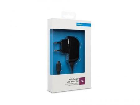 Сетевое зарядное устройство Deppa 23120 1A для устройств с разъемом microUSB черный