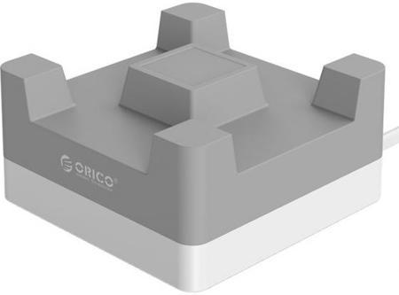 Сетевое зарядное устройство Orico CHA-4U-EU-GY 2.4А 4 x USB серый