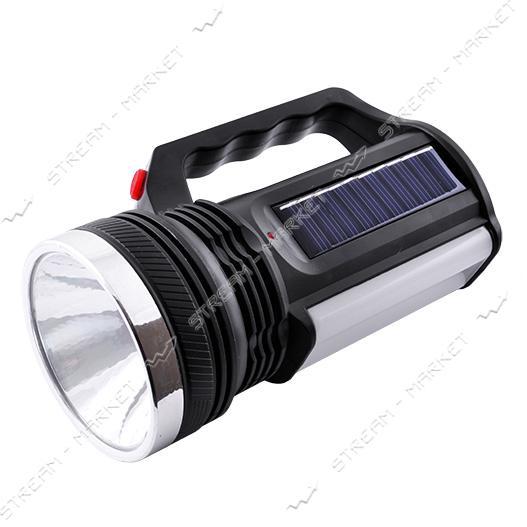 Фонарь ручной светодиодный YJ-2836 T 1LED 16SMD аккумуляторный (солн. батарея)