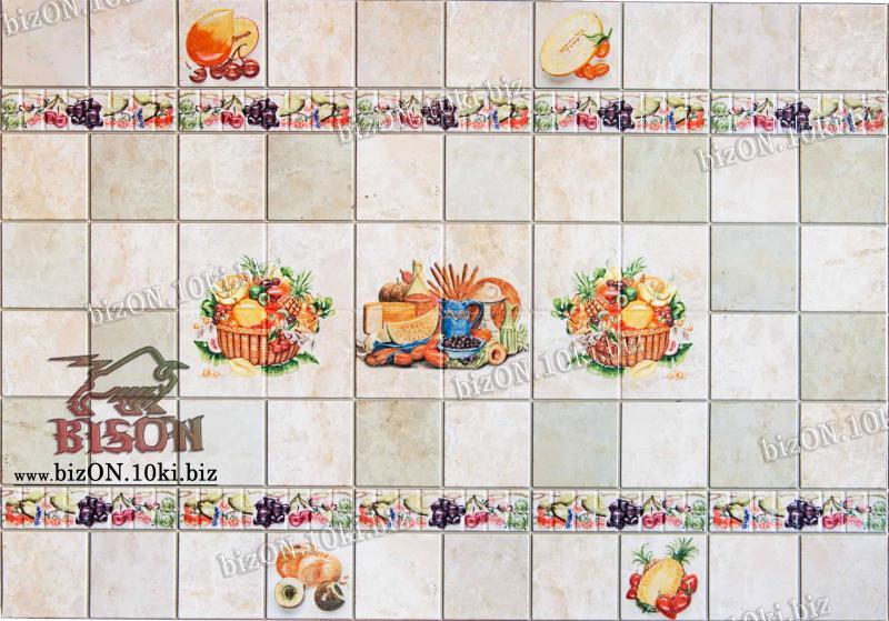 Панно «РЕТРО» (3 листа в комплекте)   Листовые панели ПВХ
