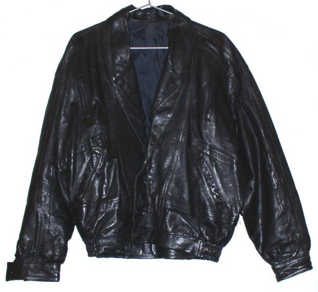 Куртка кожаная мужская *7609
