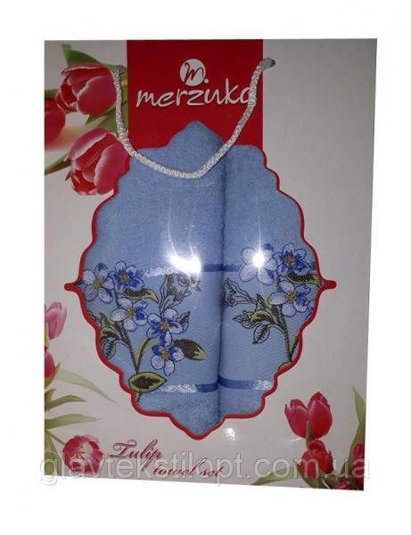 Подарочный набор полотенец Merzuka Турция (2 шт)