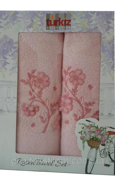 Подарочный набор полотенец Turkiz Турция (2 шт)