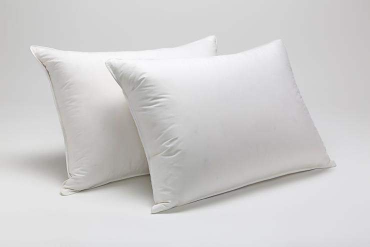 Отельная подушка White бязь 70*70