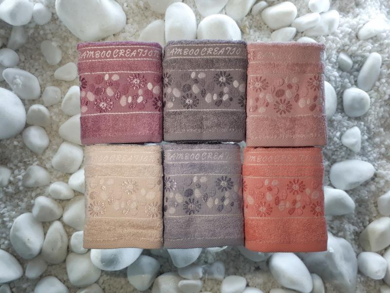 Фото Полотенца, Кухонные полотенца Бамбуковое полотенце 30*50 Julia Турция