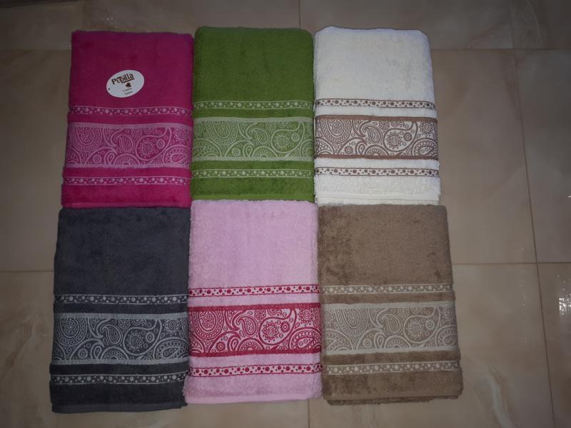 Фото Полотенца, Банные полотенца Махровое полотенце 70*140 Pupilla Турция