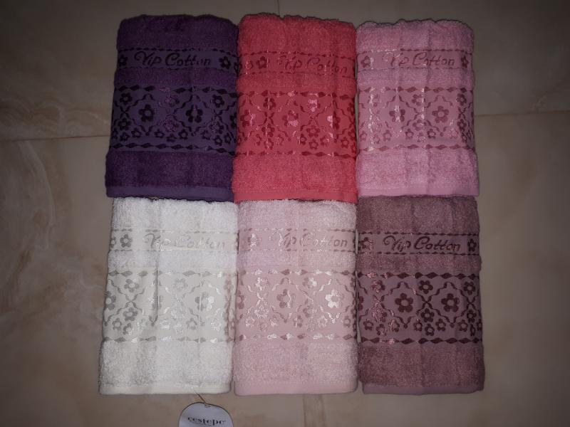 Фото Полотенца, Лицевые полотенца Махровое полотенце 50*90 Cestepe Vip Cotton Турция