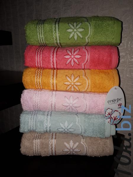 Махровое полотенце 50*90 Cestepe Vip Cotton Турция Полотенца  в ТЦ Атриум Харьков