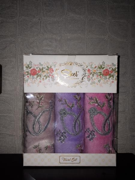 Подарочный набор полотенец 30*50 Sikel Турция