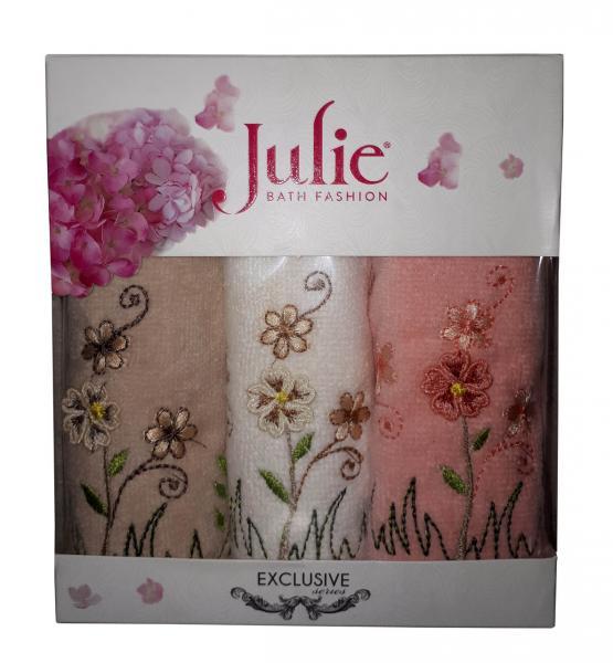 Подарочный набор полотенец (30*50) Julie Турция 3шт