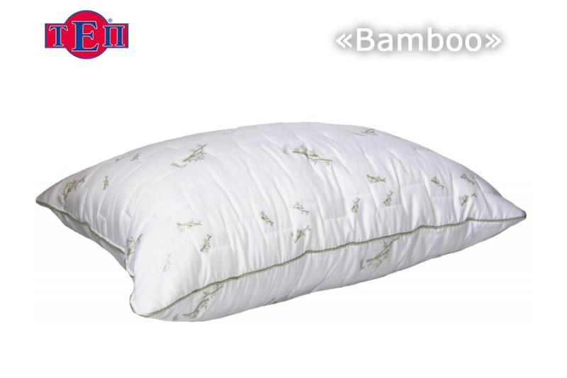 Фото Подушки, Подушки с натуральным наполнителем Подушка Бамбук 50*70 ТЕП
