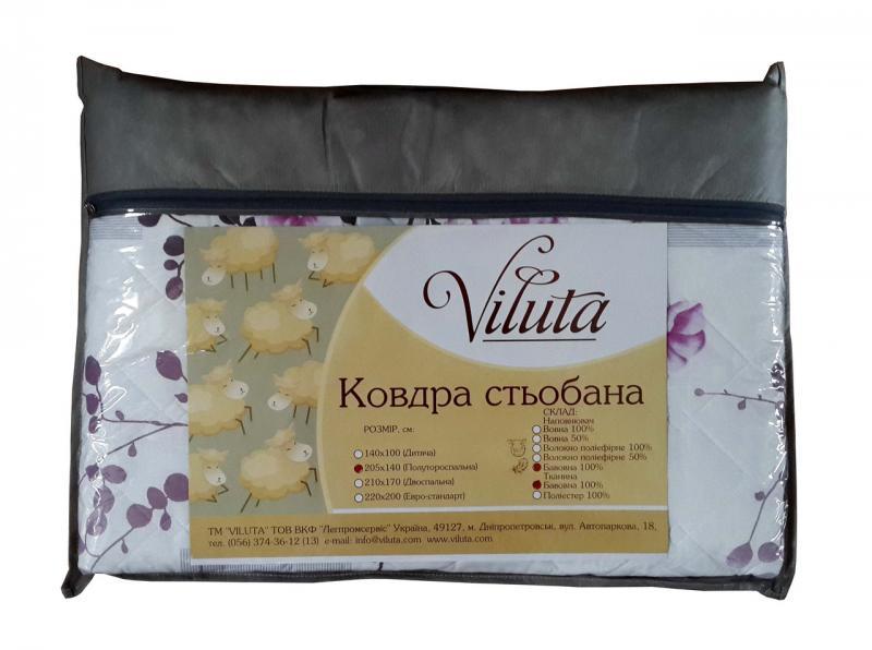 Хлопковое одеяло 170*200 Viluta