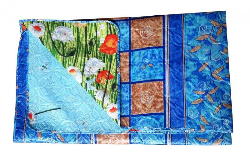 Фото Одеяла, Одеяла-покрывала атлас Одеяло-покрывало атлас 1,5