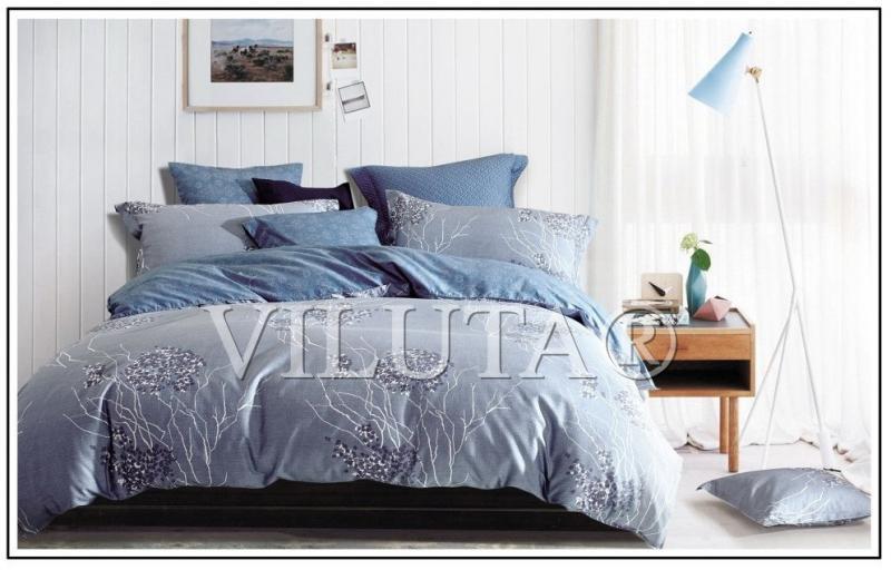 Постельное белье евро Сатин Твил 625 Viluta