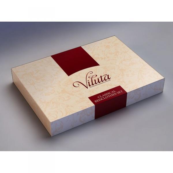 Фото Постельное белье, Постельное белье Сатин Постельное белье евро Сатин Твил 609 Viluta