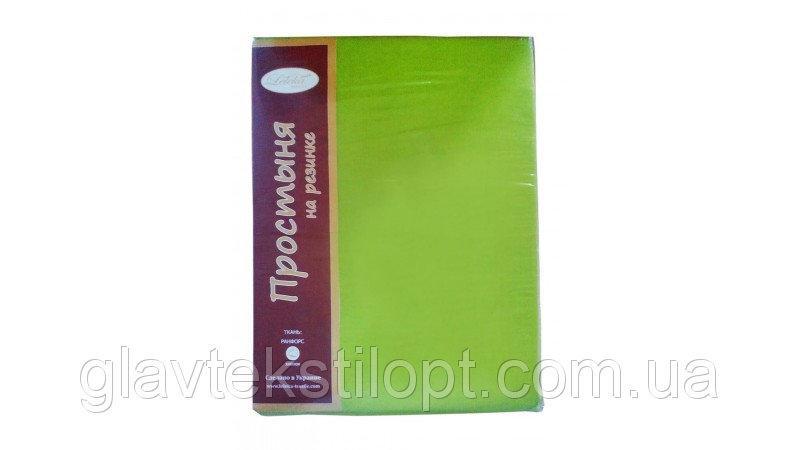 Простыня на резинке Ранфорс Leleka-textile