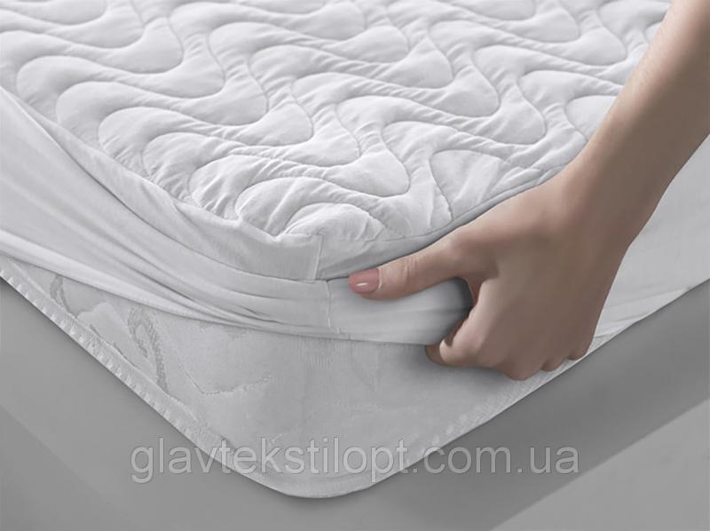 Наматрасник с бортами 160*200*23 Leleka-textile