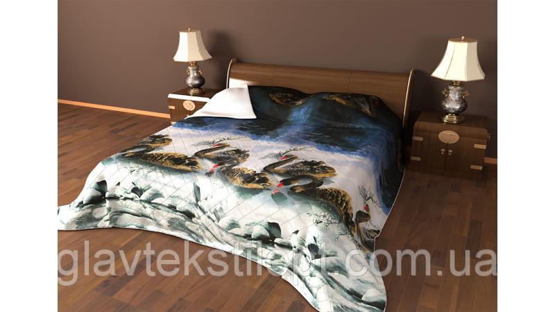 Летнее одеяло-покрывало 210*220 Leleka-textile