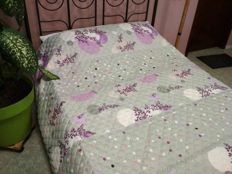 Одеяло-покрывало Полиэстер 140*205 Leleka-textile