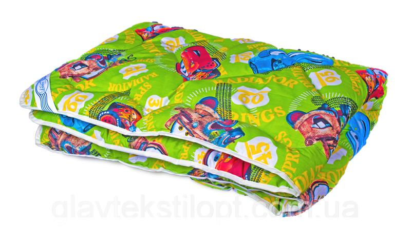 Фото Одеяла, Одеяла силиконовые Одеяло холлофайбер Детское 105*140 Leleka-textile