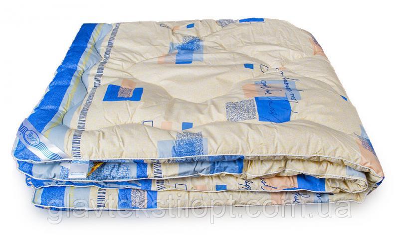 Шерстяное одеяло Зима 200*220 Leleka-textile