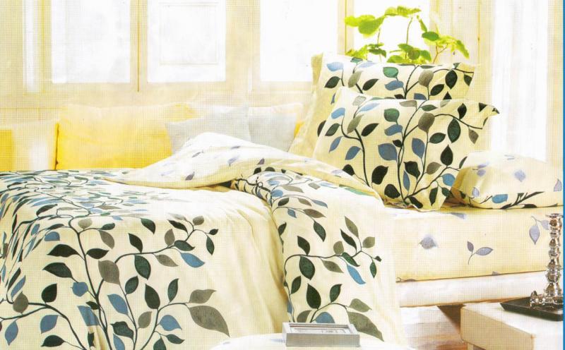 Постельное белье 2,0 Сатин  Leleka-textile
