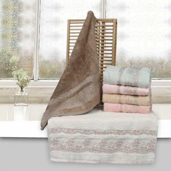 Бамбуковое полотенце 50*90 Miasoft (Турция)
