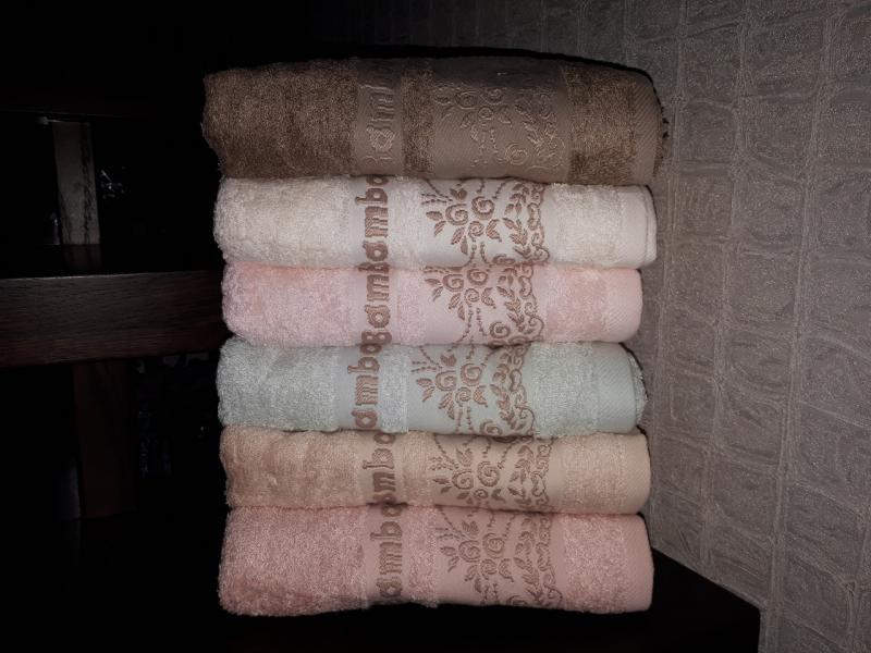 Фото Полотенца, Банные полотенца Бамбуковое полотенце 50*90 Miasoft (Турция)
