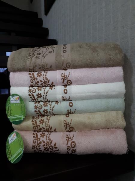 Бамбуковое полотенце 70*140 Cestepe Турция